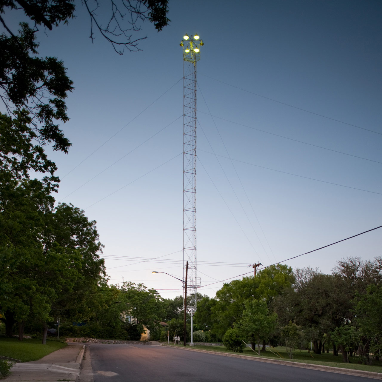 Moonlight Towers Andy Mattern